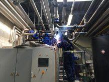 Dirk-Jan Visser bouw energiecentrale